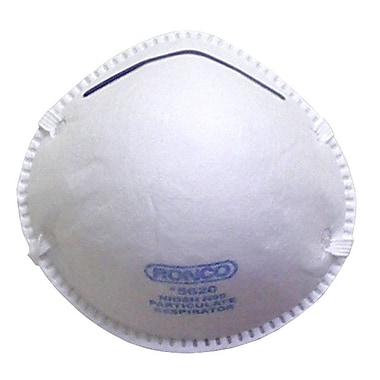 Ronco Easy Breezy Particulate Respirator Mask, White