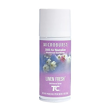 Microburst 3000 Air Neutralizer Refill, 2 oz., Linen Fresh