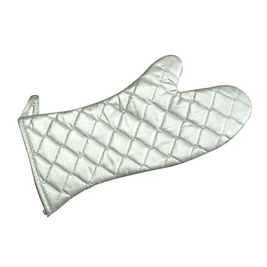 Russell Food Elbow Length Quilted Oven Mitt, Silver, 72/Pack