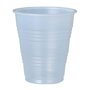 Solo® Polystyrene Plastic Cup, 7 oz., Translucent