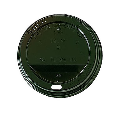 Solo® Traveller® Polystyrene Dome Hot Cup Lid
