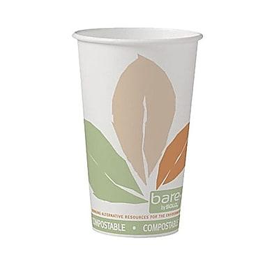 Solo® Eco Forward® Post Consumer Fiber Paper Hot Cup, 16 oz., Bare