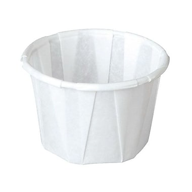 Solo® Treated Paper Souffle Portion Cup, 2 oz., White