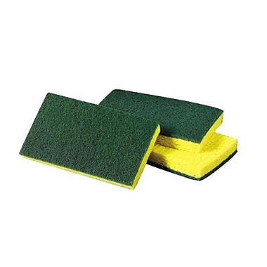 3M™ Medium Duty Scrubbing Sponge, Yellow/Green
