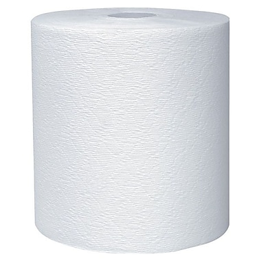 KleenexMD – Essuie-tout robustes en rouleau, 8 po x 425 pi, blanc