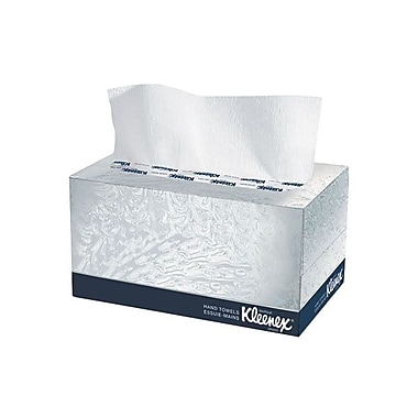 Kleenex® Hand Towels In Pop-Up Box, White, 18/Pack