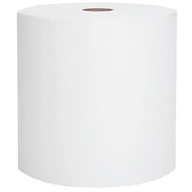 ScottMD – Essuie-tout robustes haute capacité en rouleau, 8 po x 1000 pi, blanc