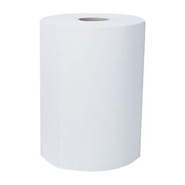 ScottMD – Essuie-tout robuste en rouleau Slimroll, 8 po x 580 pi, blanc