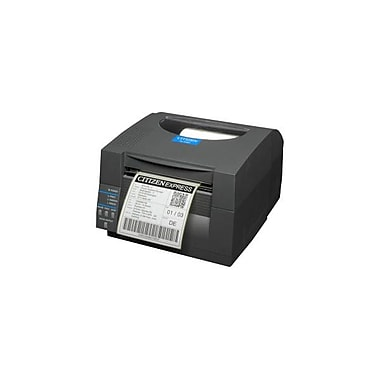 Citizen CL-S521 Direct Thermal Monochrome Barcode Label Printer With Wi-Fi, 203 dpi, 4 ips