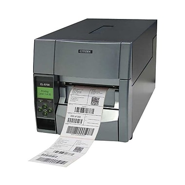 Citizen CL-S700 Direct/Thermal Transfer Barcode Label Printer With Ethernet, 300 dpi, 10 ips