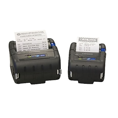 Citizen CMP-30 Mobile Direct Thermal Label Printer, 203 dpi, 3.90mm/sec