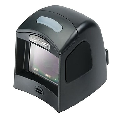 Datalogic™ Magellan 1100i Multi-Interface Barcode Scanner with RS-232/Black Stand Kit, 5 mil, Black