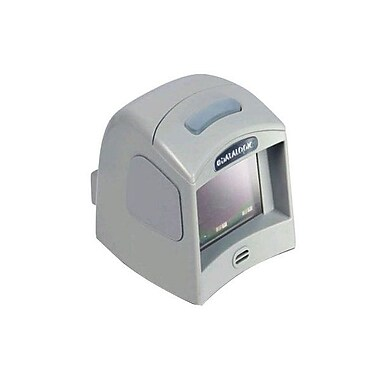Datalogic™ Magellan 1100i RS-232 1D/2D Barcode Scanner with Button, 5 mil Omnidirectional, Gray