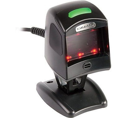 Datalogic™ Magellan 1100i RS-232 1D/2D Barcode Scanner with No Button, 5 mil Omnidirectional, Black