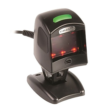 Datalogic™ Magellan 1100i Serial 1D Barcode Scanner with RS-232 Config/RS/WN 9D/2M Cable, 5 mil, Black