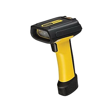 Datalogic™ PowerScan PD7130 RS-232 1D Barcode Scanner with Cable CAB-434, 3 mil Linear, Yellow/Black