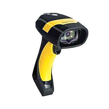 Datalogic™ PowerScan PM8300 910Mhz RS-232 1D Barcode Scanner with Removable Battery, 3mil Linear