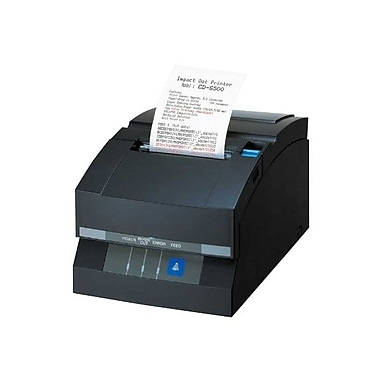 Citizen CD-S500 5 lps Serial Interface External Power Supply POS Printer with Cutter, Black
