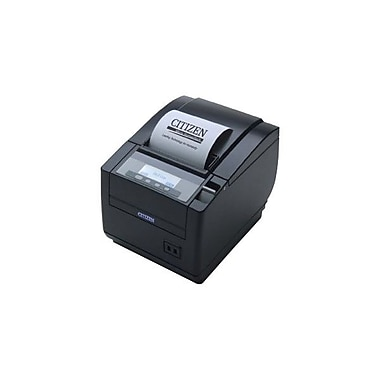 Citizen CT-S801 11.81 in/s Ethernet Top Exit Thermal POS Receipt Printer, Black