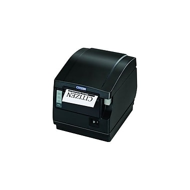 Citizen CT-S651 11.81 in/s Parallel Interface Front Exit Thermal POS Receipt Printer, Black