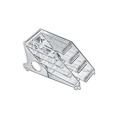 Azar Displays 4-Tier Modular Lipstick Tray Insert measures 3
