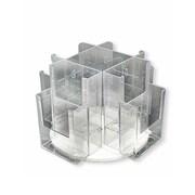 Azar Displays Revolving Counter Display, 8 Pockets