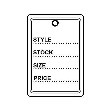 Retail Tag E 1-3/8