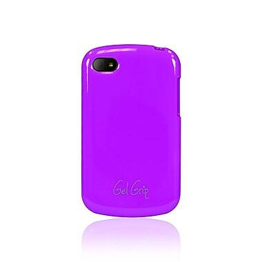 Gel Grip BlackBerry Q10 Classic Series Gel Skin, Purple, Q10PLC