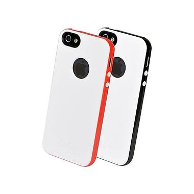 Gel Grip – Étui de la série Ringo pour iPhone 5, blanc titane, RIP5WBK