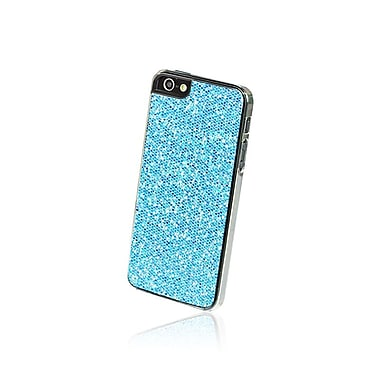 Gel Grip – Étui pour iPhone 5 de la série Glitter, bleu, IP5GB