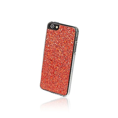 Gel Grip iPhone 5 Glitter Series Shell, Red, IP5GR