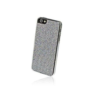 Gel Grip – Étui pour iPhone 5 de la série Glitter, gris, IP5GGY