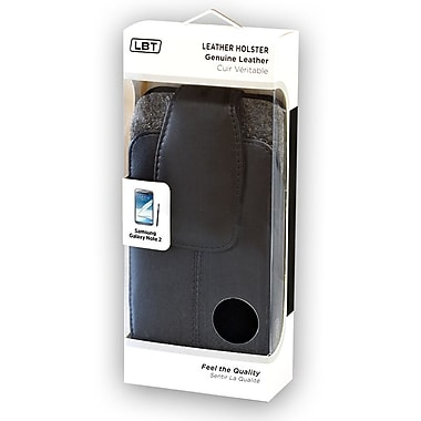 Samsung Galaxy Note2 Lambskin Holster with Plastic Clip