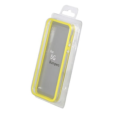 Gel Grip – Étui-cadre pour iPhone 5, jaune, BIP5Y