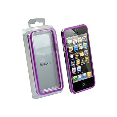 Gel Grip iPhone 5 Bumper Case, Purple, BIP5PL