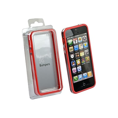 Gel Grip iPhone 5 Bumper Case, Red, BIP5R