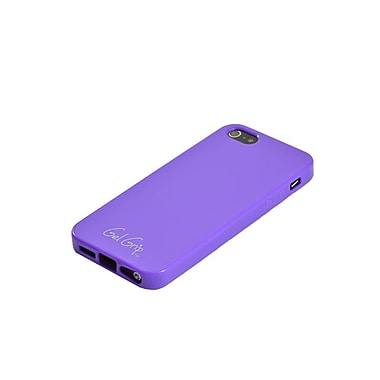 Gel Grip – Étui Candy Gel Skin pour iPhone 5, violet, IP5PLCY