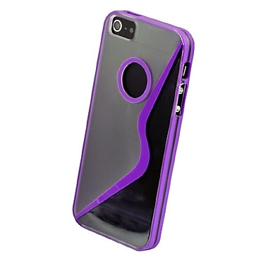 Gel Grip iPhone 5 Sera Shell, Purple, IP5SRPL