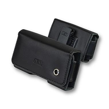 LBT – Étui horizontal de style pochette 204 avec rabat magnétique et pince de ceinture, PO-H204