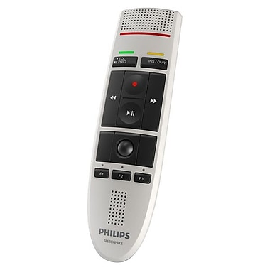 Philips® White USB Dictation Microphone