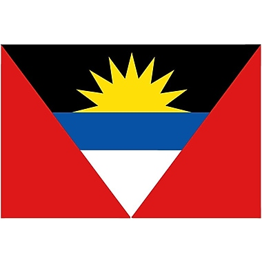International Flag, Antigua & Barbuda, 4