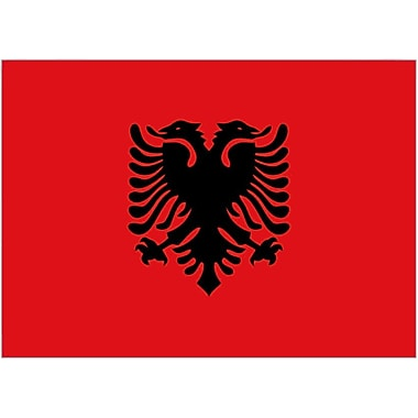 International Flag, Albania, 4