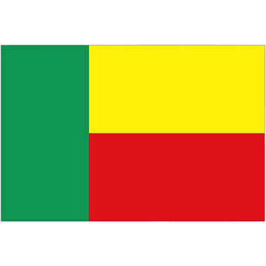 International Flag, Benin, 36