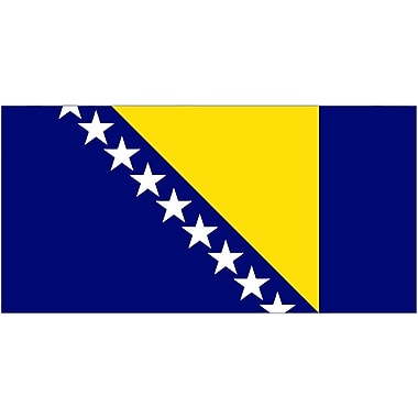 International Flag, Bosnia-Herzegovina, 36