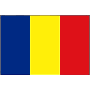 International Flag - Chad