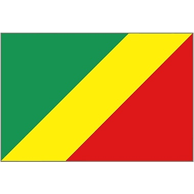 International Flag, Congo-Brazzaville, 36