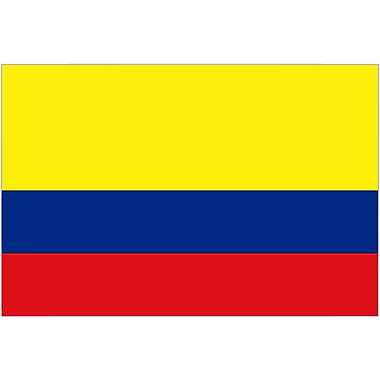 International Flag - Columbia