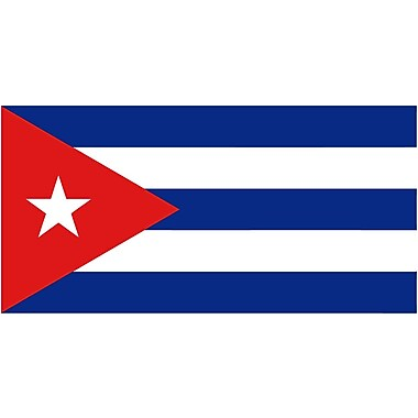 International Flag, Cuba, 36