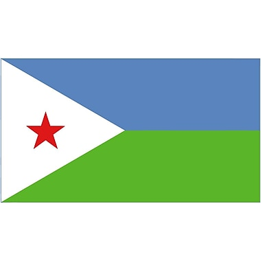 International Flag - Djibouti