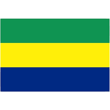 International Flag - Gabon